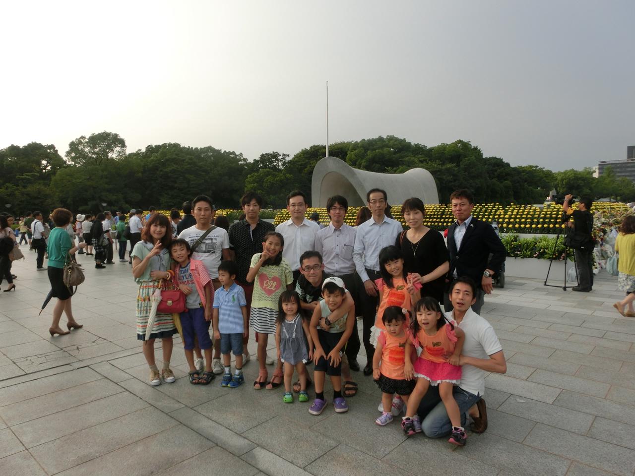 8月6日広島灯籠流し