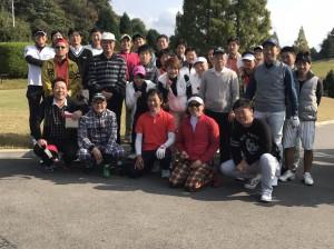 東支部青年部会「秋のゴルフコンペ」